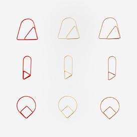 Set of 9 Paper Clips Red>     </noscript> </div>          <div class=