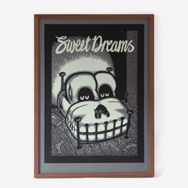 Sleeping With The TV On (Sweet Dreams) Screenprint>     </noscript> </div>          <div class=
