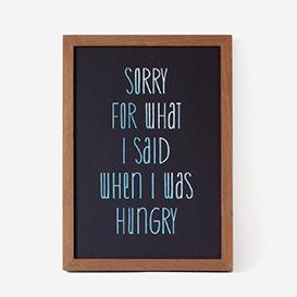 Sorry For What I Said... blk/mint Siebdruck>     </noscript> </div>          <div class=