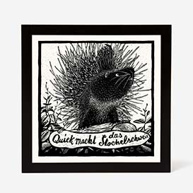 Porcupine Screenprint>     </noscript> </div>          <div class=