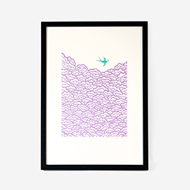 Swallows Screenprint>     </noscript> </div>          <div class=