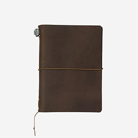 TRAVELER'S Notebook Passport Size - Brown>     </noscript> </div>          <div class=