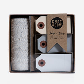 Tag &amp; Twine Box Silver / Neutral>     </noscript> </div>          <div class=