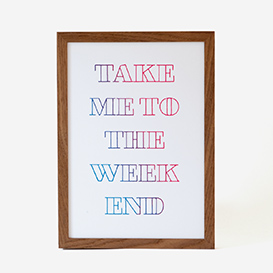 Take Me To The Weekend>     </noscript> </div>          <div class=