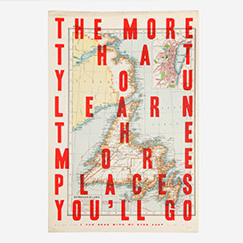 The more that you learn - Lucky Dips Screenprint>     </noscript> </div>          <div class=