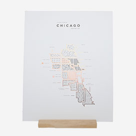 Visual Guide Chicago Letterpress Print>     </noscript> </div>          <div class=