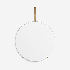 Wall Mirror Brass 50 cm>     </noscript> </div>          <div class=