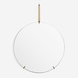 Wall Mirror Brass 70 cm>     </noscript> </div>          <div class=