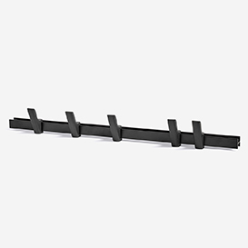 Coat Rack Beam L90 Charcoal>     </noscript> </div>          <div class=