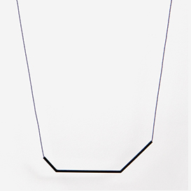 Necklace Angle No. 2 Grey - Black>     </noscript> </div>          <div class=