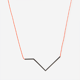 Necklace Angle No. 4 Neon Red - Black>     </noscript> </div>          <div class=