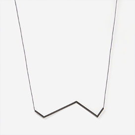 Necklace Angle No. 5 Grey - Black>     </noscript> </div>          <div class=