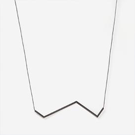 Winkelkette Nr. 5 Fliedergrau - Schwarz>     </noscript> </div>          <div class=