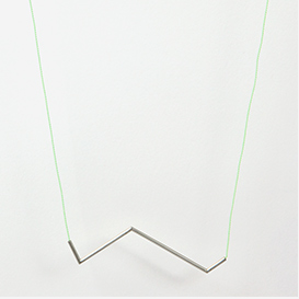 Necklace Angle No. 5 Mint - Silver>     </noscript> </div>          <div class=