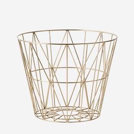 Wire Basket Small Brass>     </noscript> </div>          <div class=