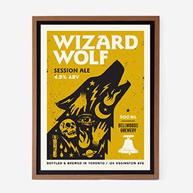 Wizard Wolf Screenprint>     </noscript> </div>          <div class=