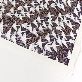 Yuzen Paper Cranes Dark Blue>     </noscript> </div>          <div class=