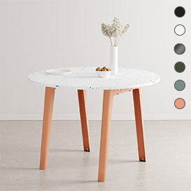 NEW MODERN Round Table – runder Tisch mit Tischplatte aus recyceltem Plastik>     </noscript> </div>          <div class=