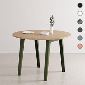 NEW MODERN Round Table – runder Tisch mit öko-zertifizierter Holzoberfläche>     </noscript> </div>          <div class=