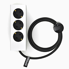 Plug 3 Multiple Socket Chalk>     </noscript> </div>          <div class=