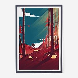 The Mountains Pt.3 Screenprint Poster >     </noscript> </div>          <div class=