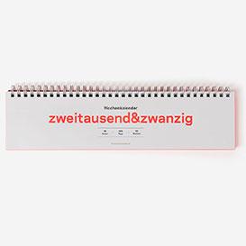 zweitausend&zwanzig - Wochenkalender 2020>     </noscript> </div>          <div class=