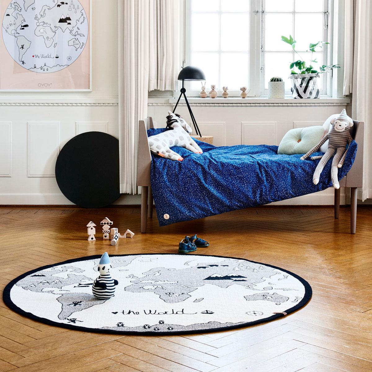 rikiki grafik produkt kinderzimmer teppich the world. Black Bedroom Furniture Sets. Home Design Ideas