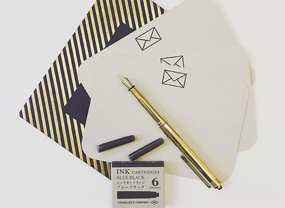 Stifte und Füller