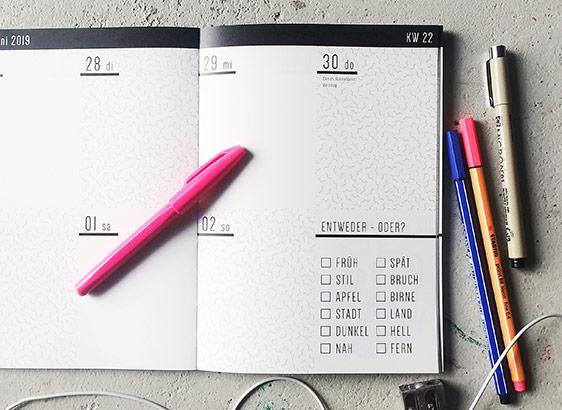Kalender 2019 bei rikiki