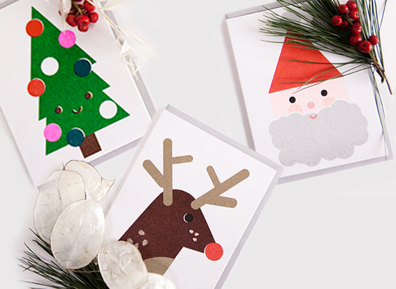 christmas cards and new years cards at rikiki